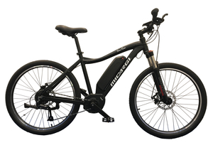 Mid drive mountain bike 36V 250W pedal assistance - Sunrise