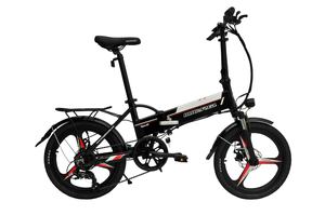 Micargi Floding Electric Bike with 36V 8.8AH Battery,20 inch EBike with 250W Motor Seco GT