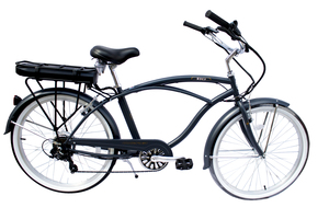 Micargi Electric Beach Cruiser Bike With SHIMANO Shifter & 48V 10.5AH Battery Electric Bicycle Bali